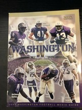 2002 WASHINGTON HUSKIES UW FOOTBALL MEDIA GUIDE Rick Neuheisel - $6.99