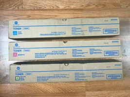 Lot of 3 Konica Minolta TN620 CMY Toner For Bizhub Pro C1060L Same Day Shipping! - $321.75
