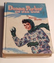 Donna Parker On Her Own Marcia Martin Whitman 1957 Vintage Book - $11.88