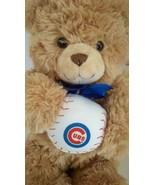 "Build A Bear Teddy Chicago Cubs Baseball Soft Plush Stuffed Animal Doll 12"" - $10.34"