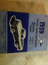 1959 Dodge Truck M Fm Serie Teile Katalog Katalog Manuell Cdn OEM - $59.39