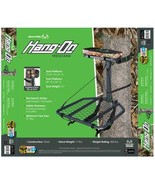 Realtree Hang-on Hunting Treestand with Realtree Seat Cushion & Backpack... - $75.00