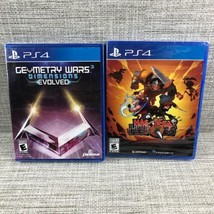 PS4 Video Game Lot - Geometry Wars 3 Evolved & Has-Been Heroes, Brand Ne... - $27.32 CAD