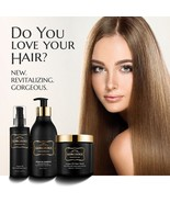 Moroccan Argan Oil Hair Care System 3 Piece Gift Set For Him Or Her - Lo... - $83.79