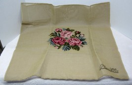 Older Bucilla Shades o Pink Roses Needlepoint Canvas 2 Matching Price is for 1 - $34.65