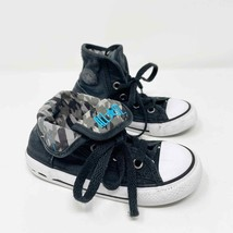 CONVERSE Size 8 Fold Over High Top Sneakers Toddler Youth  - $17.82