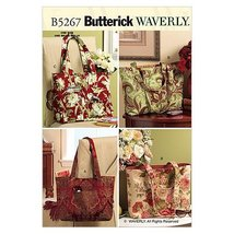 Butterick Patterns B5267 Totes, One Size Only - $14.70