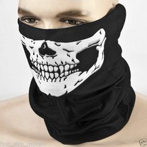 Skeleton Mask - Use It For Dress Up - Halloween - Cosplay - Motorcycle, ... - $3.25 CAD
