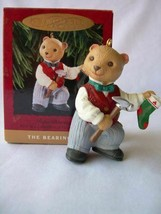 Hallmark Keepsake Ornament – Papa Bearinger 1993 – First in Series of Be... - $6.35