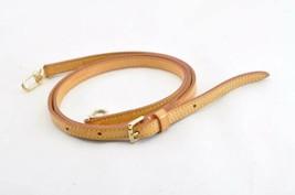 LOUIS VUITTON Leather Shoulder Strap 101-119cm LV Auth 9643 - $240.00