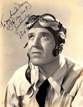 DICK FORAN AUTOGRAPHED Hand SIGNED 7X9 VINTAGE 1941 PHOTO Keep 'Em Flyin... - $189.99