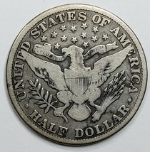 1915 Silver Barber Half Dollar Coin Lot A 150 image 2