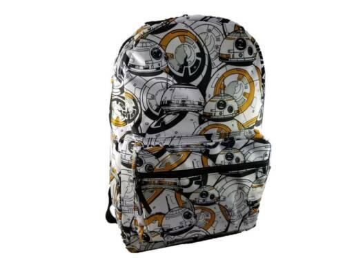Disney Star Wars Force Awakens BB-8 Backpack Laptop Gym School Sports Travel NWT