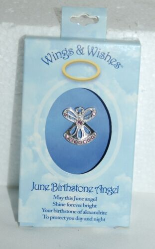DM Merchandising Wings Wishes WGW06 June Birthstone Agnel