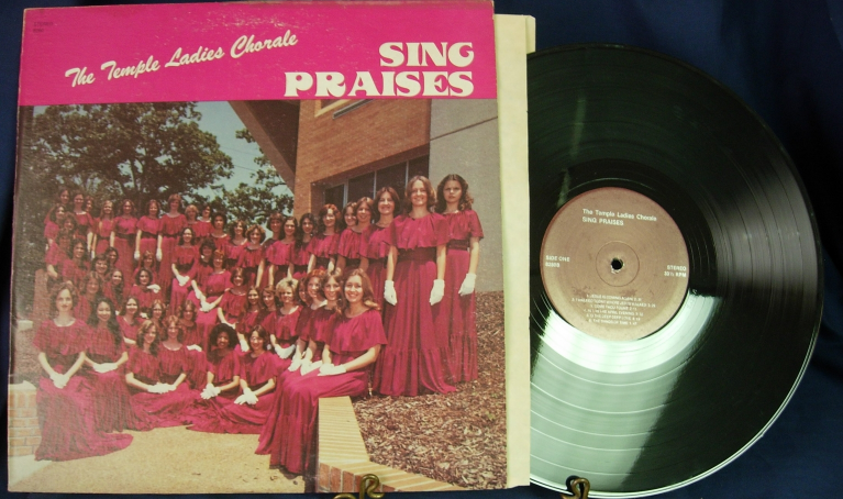 The Temple Ladies Chorale - Sing Praises - Supreme Sound Studio 8280