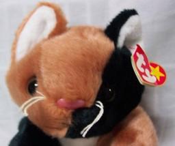 "TY Beanie Buddies CHIP THE CALICO CAT 11"" Plush STUFFED ANIMAL Toy NEW - $24.74"