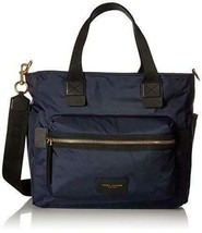 Marc Jacobs Nylon Biker Baby Weekender Bag, Midnight Blue - $278.00