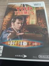 Nintendo Wii~PAL REGION Top Trumps: Doctor Who image 1
