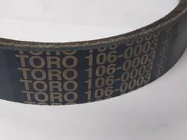 Toro OEM Belt 106-0003 - $76.99