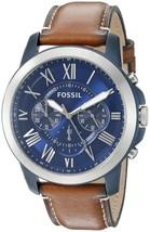 Fossil Grant Quartz Chronograph Fs5151 Men's Watch - $148.50