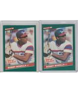 1986 Donruss The Rookies #30 Bobby Bonilla  Lot of 2 - $2.04