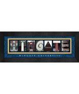 Wingate University Officially Licensed Framed Campus Letter Art - $39.95