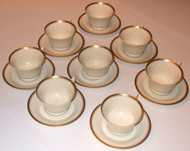 MONTICELLO PATTERN TEA SET, 16 PIECE, OLD IVORY - $117.81