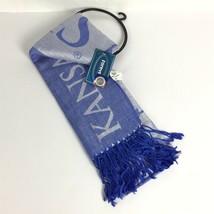 Kanas City Royals Womens Fashion Scarf Blue Team Fan MLB Baseball FOCO C16-12 - $24.29