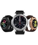 Smart Watch Latest Android Phone Ios Camera Us Wrist Gadget Waterproof M... - $83.99