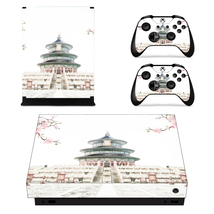 Chinese architecture Xbox One X console into a piece of art with one of our stic - $15.00