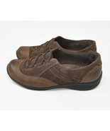 Earth Origins Dover Women's Sz 6.5M Brown Leather Upper Slip On Bungee W... - $19.95