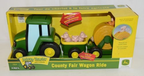 John Deere TBEK35089 Johnny Tractor County Fair Wagon Ride