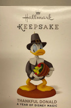 Hallmark 2014 Thankful Donald A Year of Disney Magic Series Ornament - $5.89