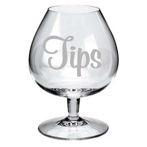 Make your Own DONATIONS or TIPS Jar Frosted Etched Glass Vinyl Sticker Decal  - $7.99
