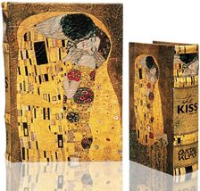 Enchanted boxes Klimt - Book Box - The Kiss (1907) - Large - $48.99