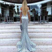Tobinoone Strapless Sequin Dress 2018 Women's Maxi Dresses Slim Elegant ... - $83.07+