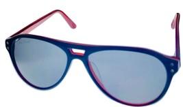 Converse Men Sunglass Navy Stripe Aviator Fashion Plastic, Smoke Lens Y006 - $22.49