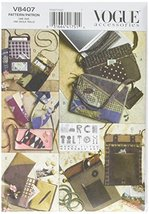 Vogue Patterns V8407 Bags, Eyeglass Case and Journal Cover, One Size - $16.66