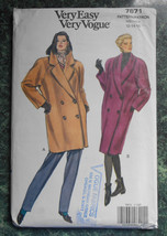Vogue Sewing Pattern 7871 - Size 12-14-16 - $4.00