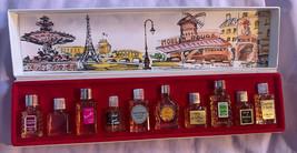 Les Grands Parfums de France Mini Perfumes Vintage perfume France Set Co... - $24.29