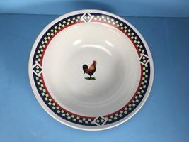 "International Tableworks Bob Timberlake Ella's Rooster 9"" ROUND VEGETABL... - $29.69"