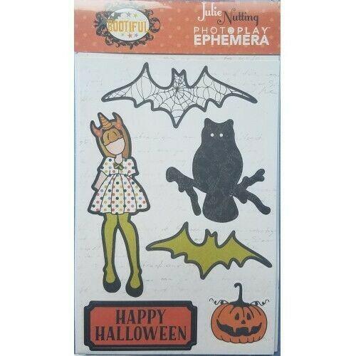"Julie Nutting ""Bootiful"" PhotoPlay Halloween Ephemera Pack"