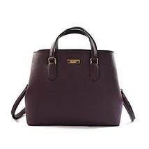 TEST Kate Spade Evangelie Laurel Way mahogany Saffiano Leather handbag +... - £171.47 GBP