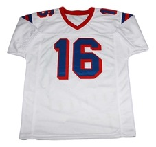 Falco #16 The Replacements Movie New Men Football Jersey White Any Size image 4