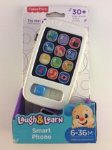 Fisher-Price Laugh & Learn Smart Phone 6-36M 30+ Songs, Sounds, Tunes & ... - $19.79
