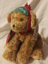 Buddy Hollyday Hallmark NWT Christmas Holiday Puppy Dog Plush Stuffed An... - $8.70