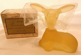 AVON PRECIOUS DOE / DEER - VTG NEW OLD STOCK - SWEET HONESTY COLOGNE .50... - $4.94
