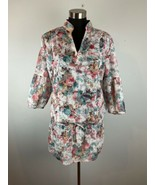 Fridays Project Italy Collection Womens Dress L Large Multicolor Floral - $39.59