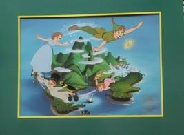 "Walt Disney's ""Peter Pan"" ~ 11"" x 14"" Matted Lithograph ~ 8"" x 11"" Print - $34.65"