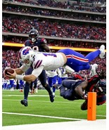 JOSH ALLEN 8X10 PHOTO BUFFALO BILLS PICTURE NFL FOOTBALL DIVE - $3.95